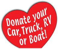 Donate your Car, Truck, RV or Boat!